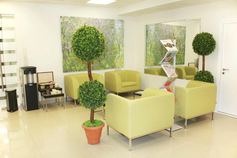 Холл Европейской клиники